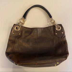 Cynthia Rowley Brown Hobo Shoulder Bag & Dust Bag